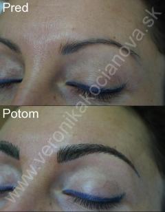 Najlepší permanentný make-up obočia