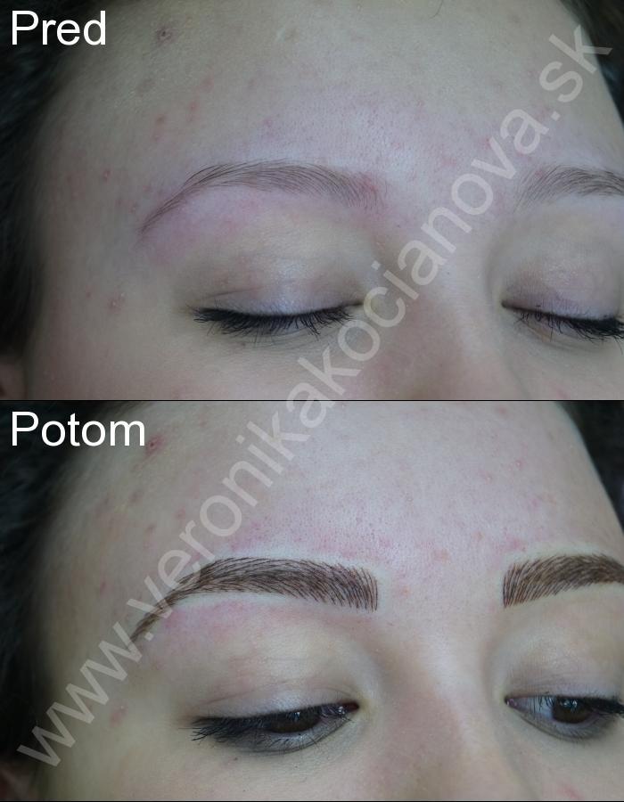 Permanentný make-up obočia Bratislava