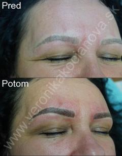 Tetovanie Microblading Permanentný makeup  VERONIKA KOCIANOVÁ